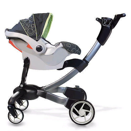 2014 4Moms Origami power folding stroller