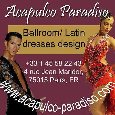 Creative latin and ballroom dance dresses at your own measurement