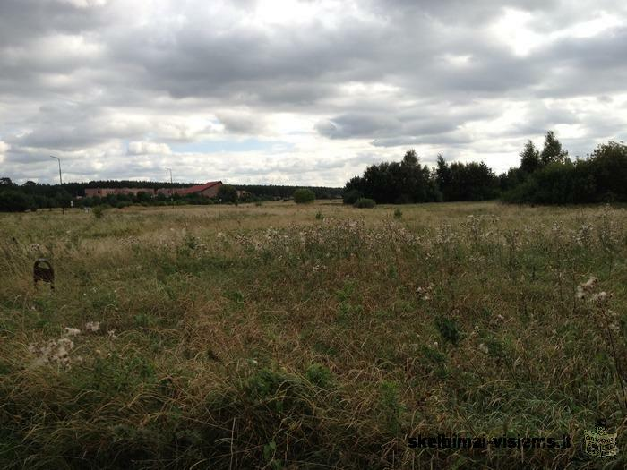 Plot of land for sale in Monciskes ( Palanga city)