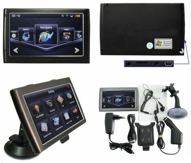 Sell latest GPS NAVIGATION + 500MHz FM Transmitter + Bluetooth