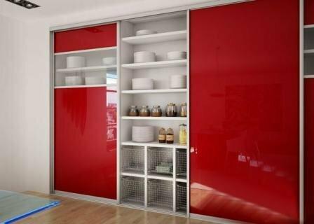 Sliding doors, sliding systems, Frameless partitions, furniture, handrails