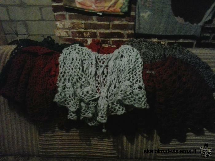 knitted, crocheted Clothes, handicrafts