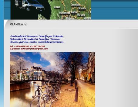 į Olandija ir iš Olandijos. Žmones, krovinukai, siuntinukai +37060428355.