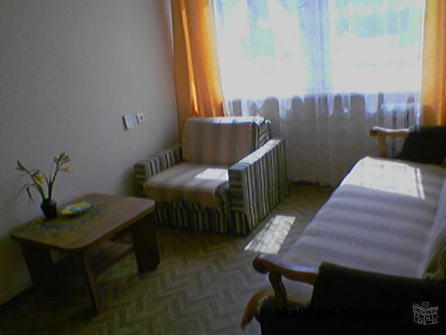 1 kambario buto nuoma poilsiui Palangoje