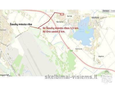 10a . iki Šiaulių 2 km. Be tarpininkų
