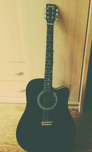 "Akustine gitara ""Skyway"" + deklas"