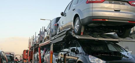 Automobilių gabenimas į Lietuvą