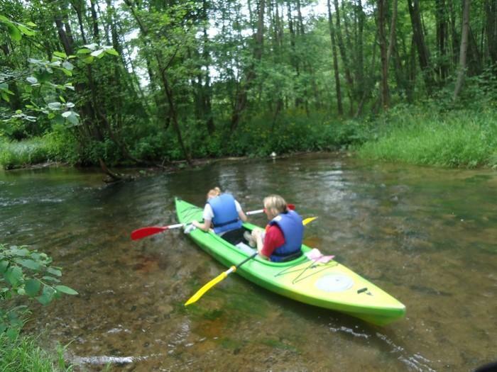 Baidariu nuoma plaukti Vrknes upe + sodybos nuoma salia Verknes