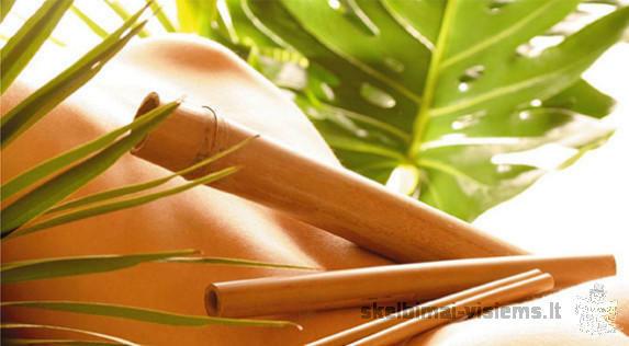Bambuko lazdelių masažas !
