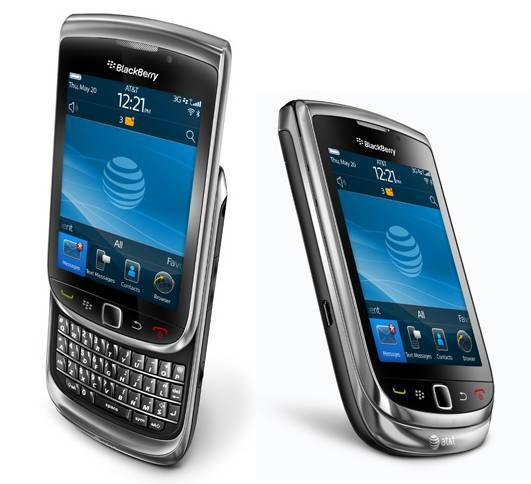 BlackBerry Torch 9800 €250
