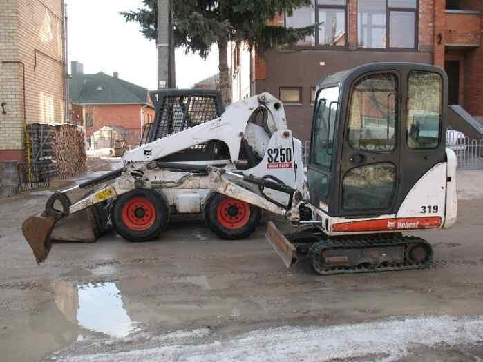 Bobcat mini krautuvo-ekskavatoriaus nuoma Panevėžyje