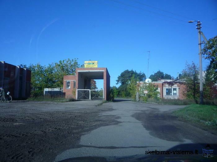 Commercial Building & Land Plot - Previous Chips Factory 1960.62 m² - Lithuania