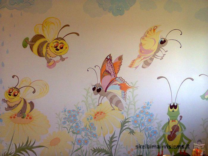 Dekoravimas sienų, paveikslai