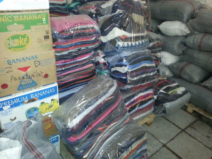 Devėti rušiuoti drabužiai iš Vakarų Europos SUPER KAINA!
