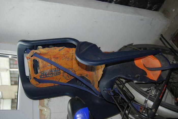Dviračio kėdutė