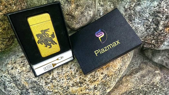 Elektriniai žiebtuvėliai Plazmax garantija 12mėn.