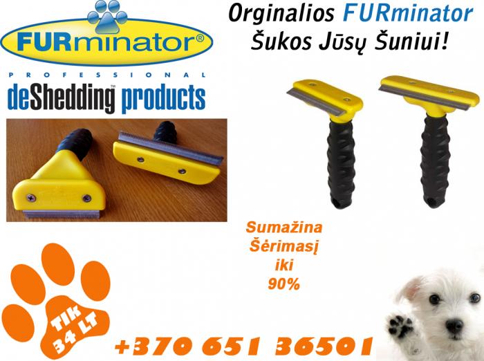 FURminator šukos nuo šėrimosi