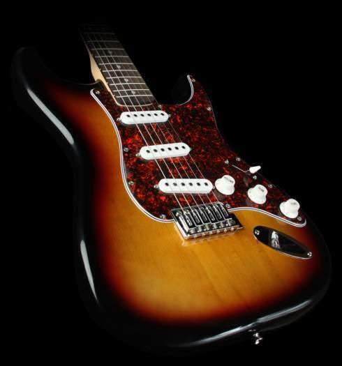 Fender elektrinė ir akustinė gitaros