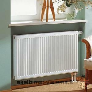 Išparduodami nauji plieniniai radiatoriai KERMI pigiausiomis kainomis