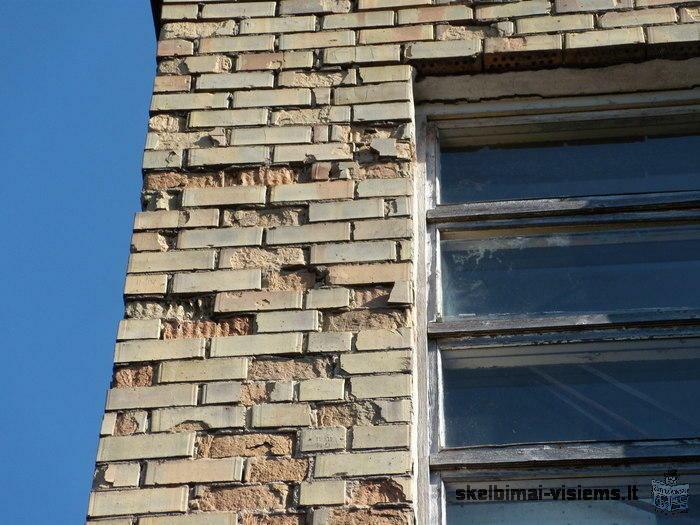 Ieškau meistro fasado remontui