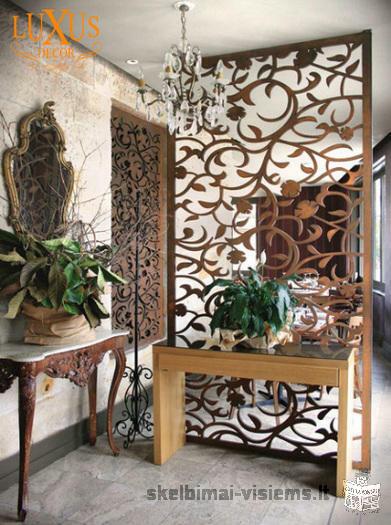 Interjero dekoravimas, dekoro detalės