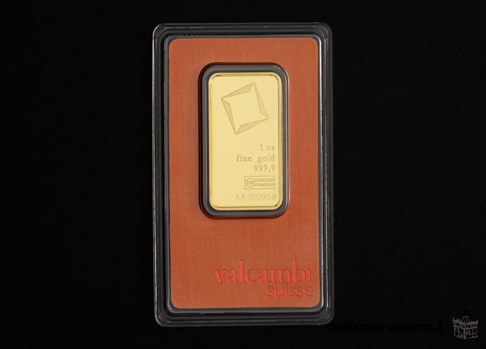 Investicinis auksas (Aukso luitai)