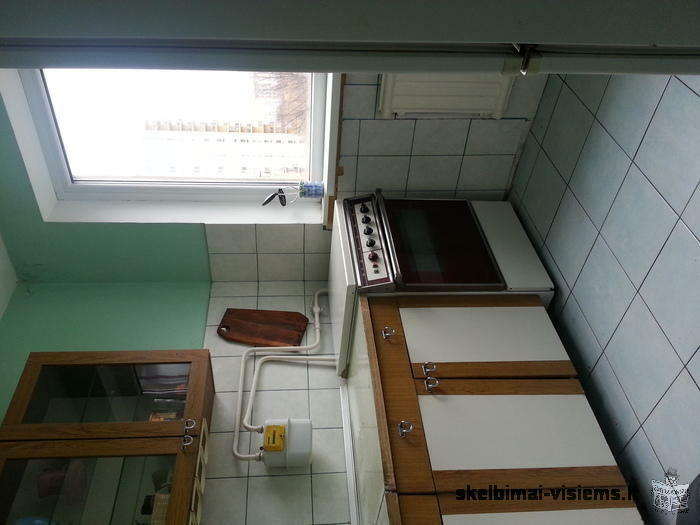 Ishnamuojamas 1 kambarys 2 kambariu bute