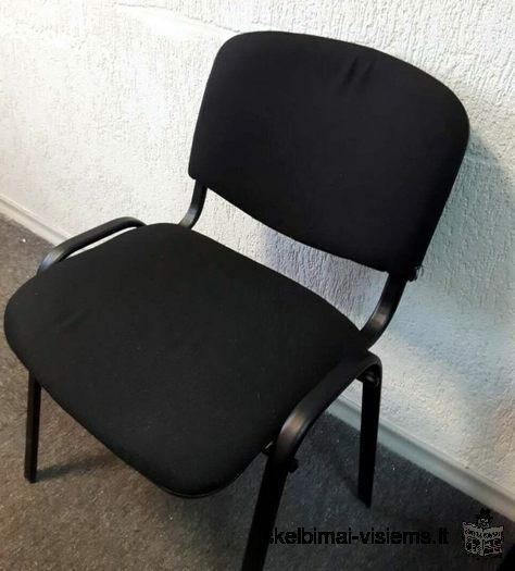Juodos biuro kėdės