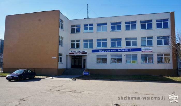 Klaipėda, Kauno, Šilutės pl., biuro, prekybinės paskirties patalpos nuomai Klaipėda, Kauno, Šilutės