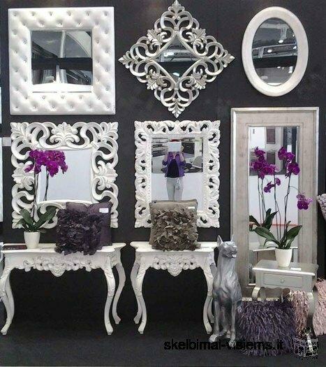 Klasikiniai, modernūs ir dekoratyviniai veidrodžiai