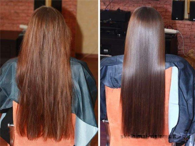 Kokybiskas plauku tiesinimas 70-150lt