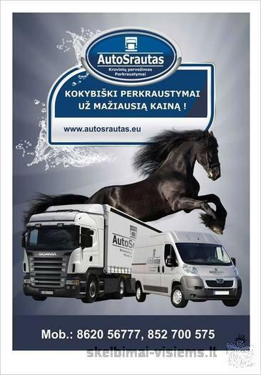 Krovinių gabenimas Lietuvoje