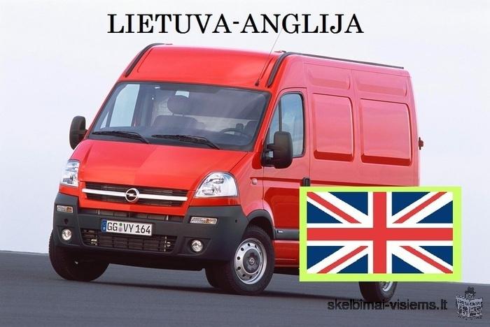 LIETUVA-ANGLIJA KELEIVIU PERVEZIMAS