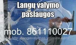 Langų valymas mob.861110027