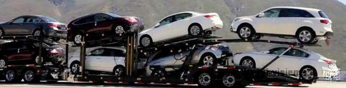 Lengvųjų automobilių pervežimas, iš Ispanijos