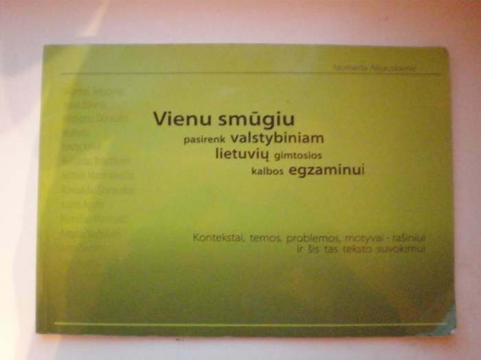 Lietuvių kalbos knyga