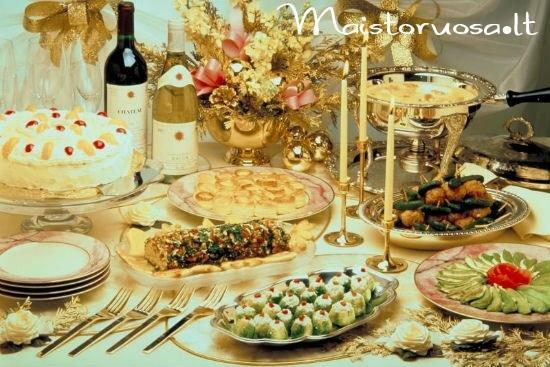 Maisto ruošimas Jūsų šventei! Vieno kąsnio užkandėlės, karšti patiekalai, desertai