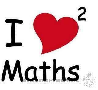 Matematikos ir chemijos korepetitorė