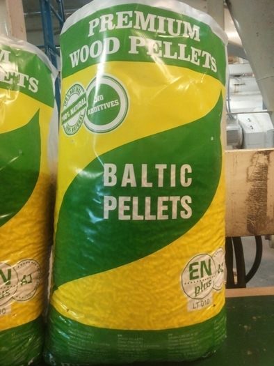 Medžio granulės ENplus Wood Pellets Holzpellets