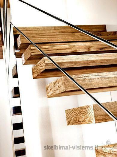 Medinių laiptų gamyba