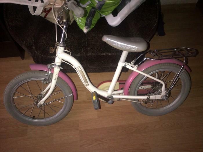 Mergaitiskas dviratukas