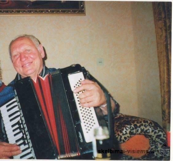 Muzikantas Antanas - Jubiliejams -