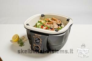 NAUJAS Delimano 8 in 1 Gourmet cooker – virtuvės prietaisas 299 Lt vietoje 399.9 Lt