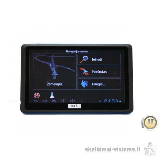 NAUJIENA IHEX-5000 tai GPS ir plančetinis kompiuteris
