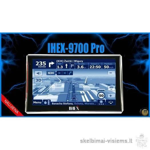 NAUJOS KARTOS, PERSPEKTYVI navigacinė sistema IHEX-9700PRO