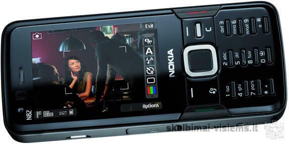 Nokia N82 Juodas, geros būklės