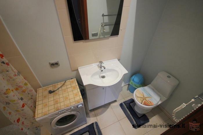 Nuomojamas butas Žvėryne, Vilniuje, 25 kv.m ploto, 1 kambarys
