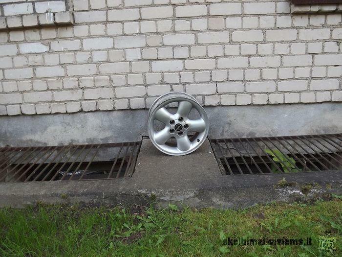 Opelinei lieti diskai
