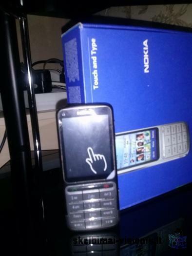 Parduoda:Nokia C3-01