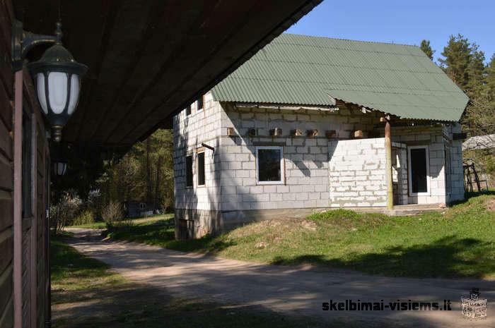 Parduodama Švenčionių r. sav., Statkuškės vs., Ramioji g., sodyba prie upės